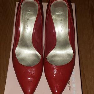Red Patent Heels - Bandolino Size 6